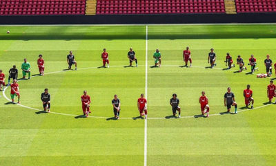 El mensaje del Liverpool FC en honor a George Floyd