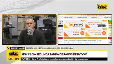 Hoy inicia segundo pago de subsidio de Pytyvõ