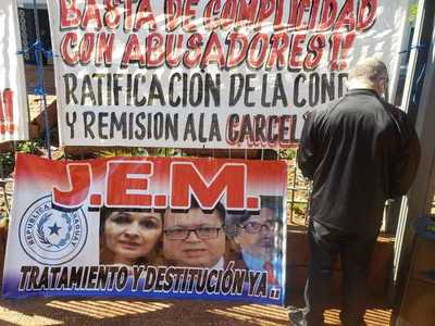 Anuncian otro acto de protesta para pedir destitución de camaristas