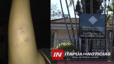 DENUNCIAN SUP/ VIOLENCIA FAMILIAR EN SAN PEDRO DEL PNÁ Y NULO ACCIONAR DE LA FISCALÍA