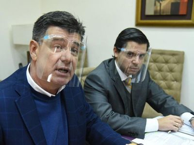 Efraín Alegre sostiene que es víctima de la mafia y de un fiscal cartista