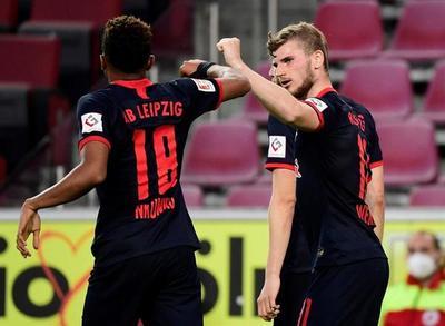 El Leipzig retorna al podio de la Bundesliga
