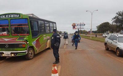 Policía Nacional intensifica controles en Alto Paraná