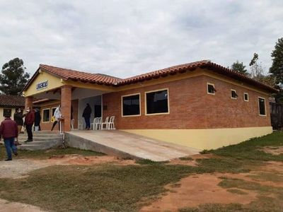 Inauguran Hospital Distrital de Paso Yobái