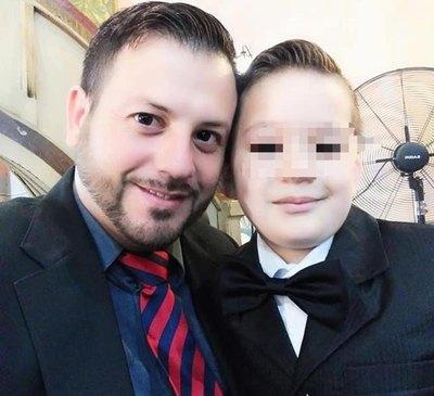 Papá del niño baleado he´i que perdonó a los volái