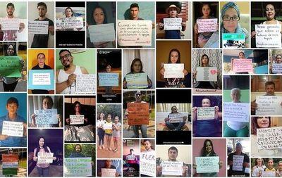 Con protesta virtual piden celeridad en investigación
