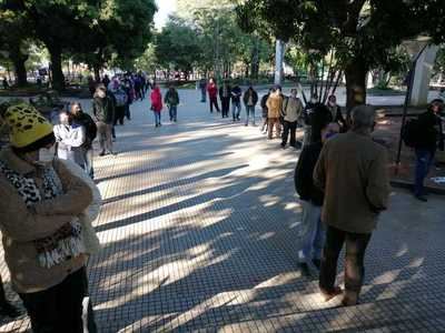 """Habilitan Plaza de la Justicia para firma de """"Libro de Comparecencia"""""""