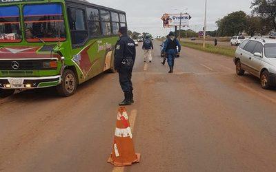 Estricto control policial en Minga Guazú – Diario TNPRESS