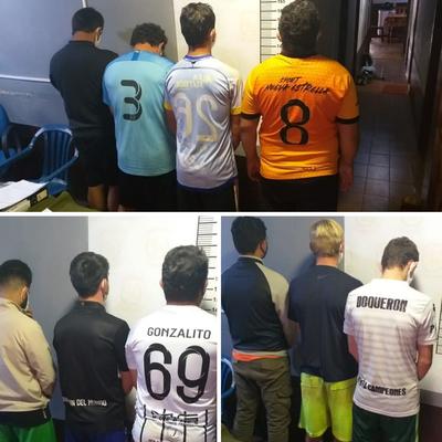 Inician proceso judicial contra 10 hombres detenidos cuando jugaban piki vóley