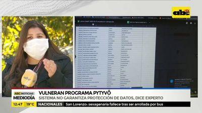 Sistema de Pytyvõ no garantiza protección de datos
