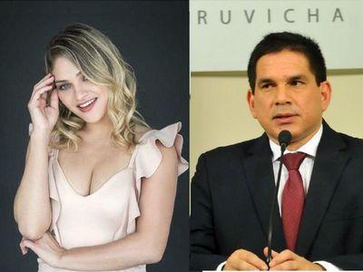 Reportera de TV confirmó romance con el gobernador Baruja