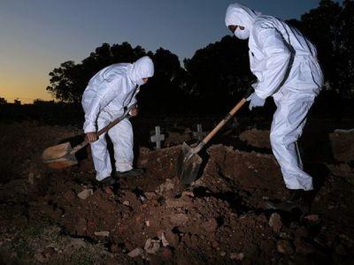 Brasil registra récord de 1.262 muertes en un solo día por Covid-19