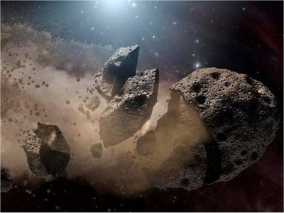 Un asteroide potencialmente peligroso se aproximará a la Tierra esta semana