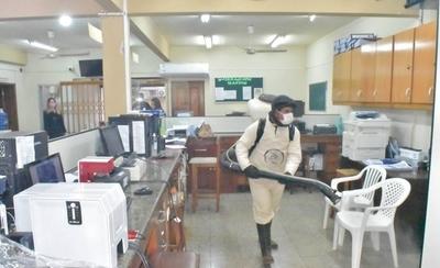 HOY / Cierran la Municipalidad de Carapeguá por posible contagio
