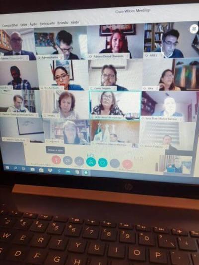Reunión virtual entre magistrados latinoamericanos