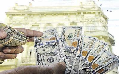 Cotización del dólar en alza, alcanzó G. 6.580