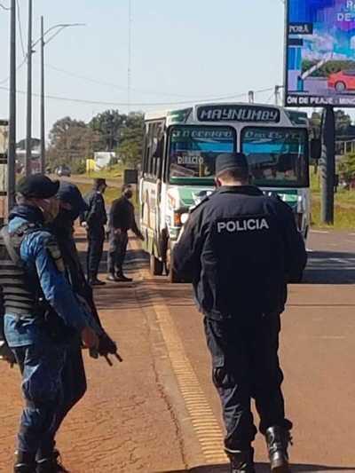 Siguen estrictos controles policiales para cumplimiento de cuarentena inteligente