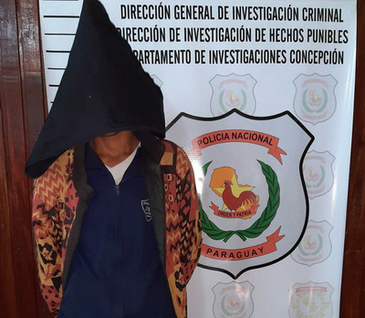 Concepción: Detienen a joven buscado por un hecho de hurto