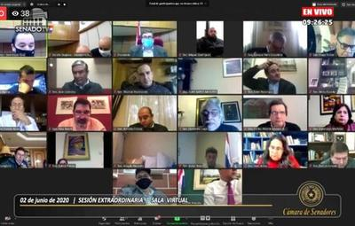 Reunión de Mario Abdo con senadores no prosperó