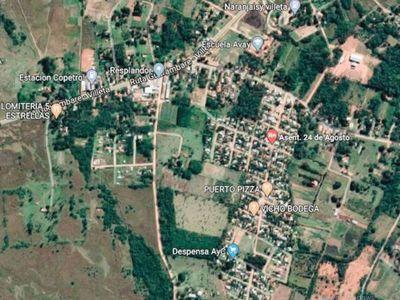 Hay terror en asentamiento que visitó casero de militar
