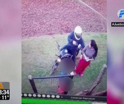 Niño defendió a su madre de un motochorro