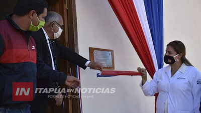 HABILITAN REFACCIONES EN EL HOSPITAL DE SAN PEDRO DEL PARANÁ.