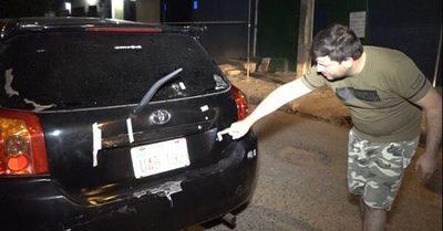 Policías balearon auto tras caer en bache, dice defensora