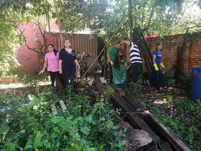 San Juan Bautista: intiman a propietarios a limpiar patios baldíos sucios
