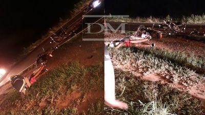 Dos sanjuaninos fallecieron en colisión frontal sobre la ruta PY01