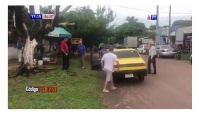 En San Juan Bautista funebreros se agarran a trompadas por un muerto