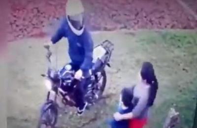 Niño defendió a su mamá en pleno asalto en Alto Paraná