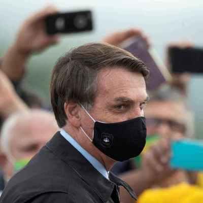 """Récord de muertes diarias por coronavirus en Brasil: """"Es el destino de todo el mundo"""" dice Jair Bolsonaro"""