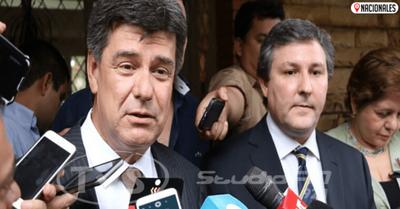 Jueza admite imputación contra Efraín Alegre