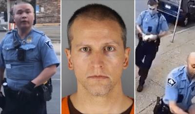 Presentan cargos contra los otros policías que estaban en la escena cuando murió George Floyd