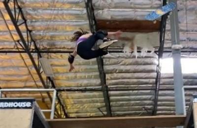 La brutal caída de Sky Brown, la niña prodigio del skateboard mundial