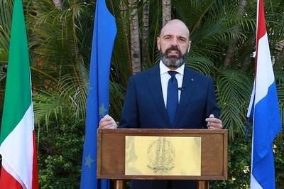 Celebran el 74 aniversario de la República Italiana