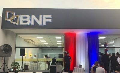 HOY / Cierran temporalmente sucursal del BNF: funcionario tiene síntomas y está aislado
