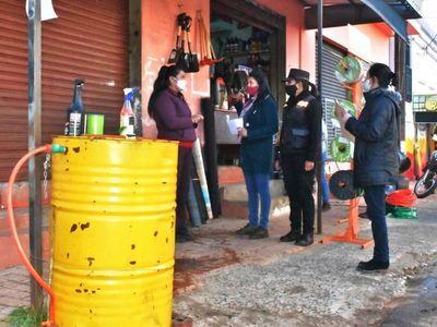 Carapeguá: Alerta por caso de Covid y cierran Municipalidad