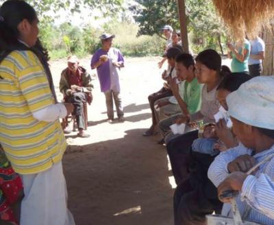 Comunidad de indígenas en Yby Yaú piden ayuda por falta de alimentos