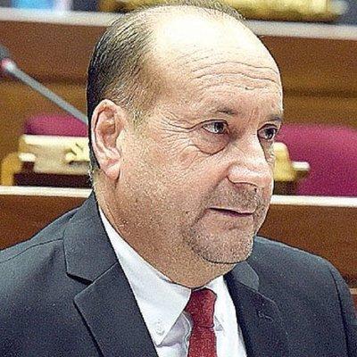 Óscar 'Cachito' Salomón, presidente del Congreso