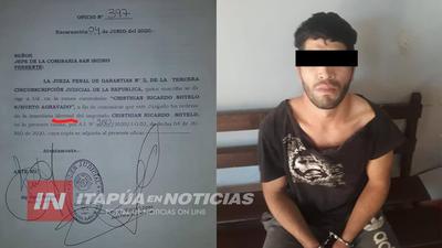 """JUEZA LIBERA A """"PY GUAZÚ"""" Y CAUSA INDIGNACIÓN EN SAN ISIDRO DE ENCARNACIÓN."""
