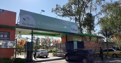 Cierran acceso 1 del parque Ñu Guasu por lo que resta de lluvioso jueves