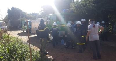 Se incendió una casa en Lucerito