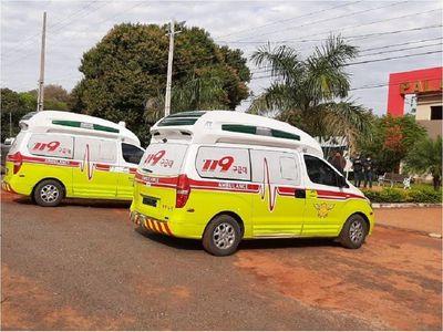 Modernas ambulancias son donadas para Liberación y Lima