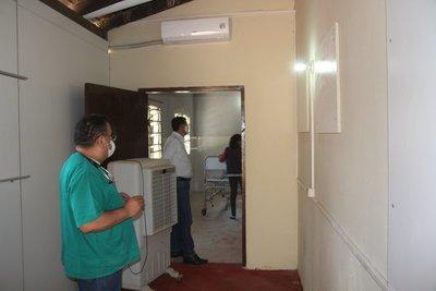 Realizaron trabajos de mejora y ampliación del Centro de Salud de Irala Fernández