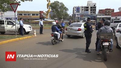 SOLICITAN A LA POLICÍA NACIONAL INTENSIFICAR CONTROLES EN ENCARNACIÓN