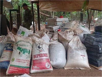 Senad incauta más de 23 toneladas de marihuana en Canindeyú