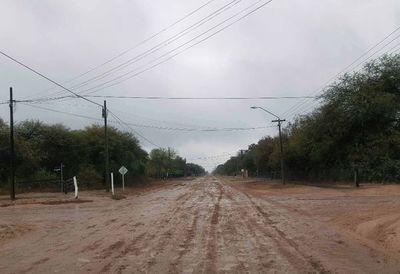 Una ligera lluvia se registra en  la región Occidental