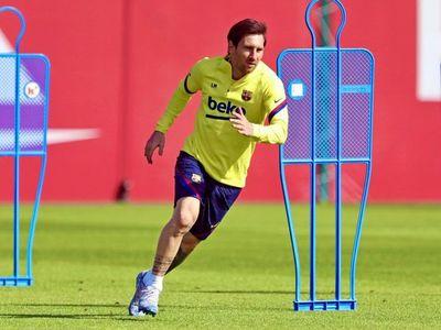 Messi sigue sin entrenarse con el grupo