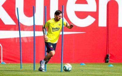 Messi enciende las alarmas en el Barcelona